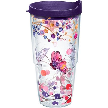 Tervis 24 oz. Watercolor Butterfly Tumbler & Lid