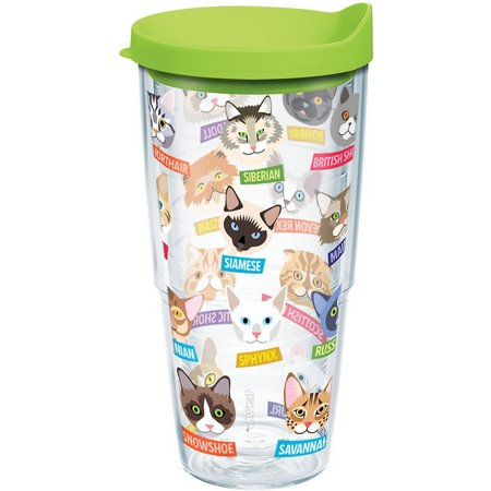 Tervis 24 oz. Flat Art Cats Tumbler With