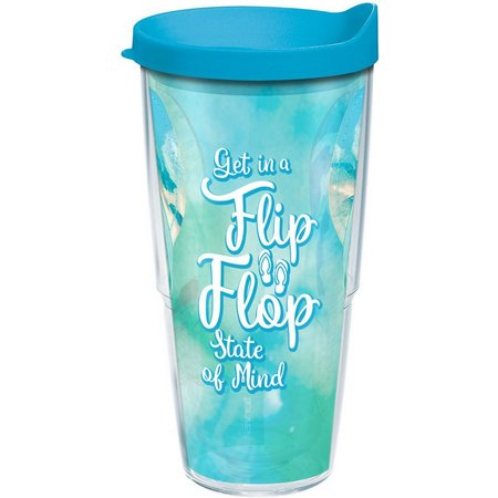 New! Tervis 24 oz. Flip Flop State Tumbler