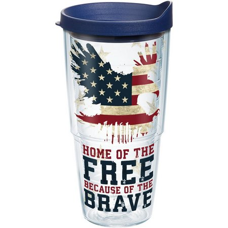 Tervis 24 oz. Home Of The Free Tumbler