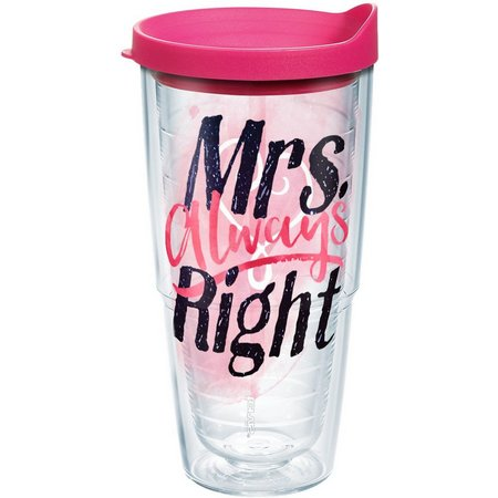 Tervis 24 oz. Mrs. Always Right Tumbler With