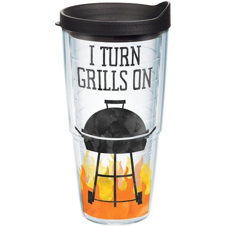 Tervis 24 oz. I Turn Grills On Tumbler