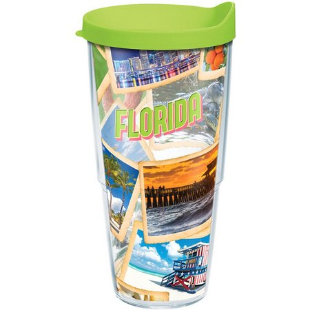 Tervis 24 oz. Florida Collage Tumbler With Lid
