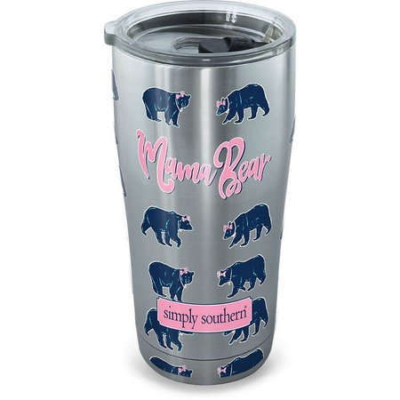 Tervis 20 oz. Stainless Steel Simply Southern Bear