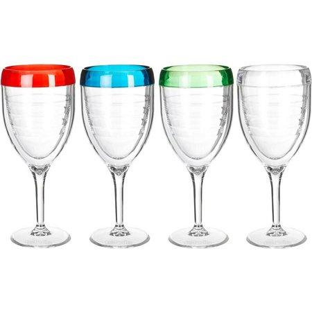 Tervis 9 oz. 4-pc. Wine Glass Set
