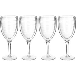Tervis 9 oz. 4-pc. Clear Wine Glass Set