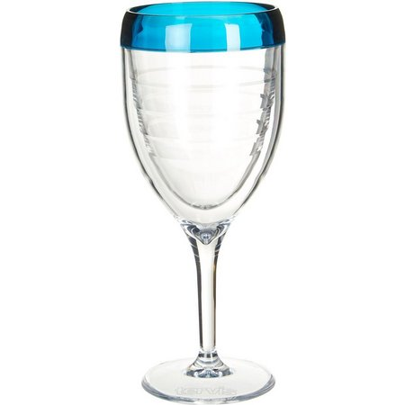 Tervis 9 oz. Blue Infusion Wine Glass