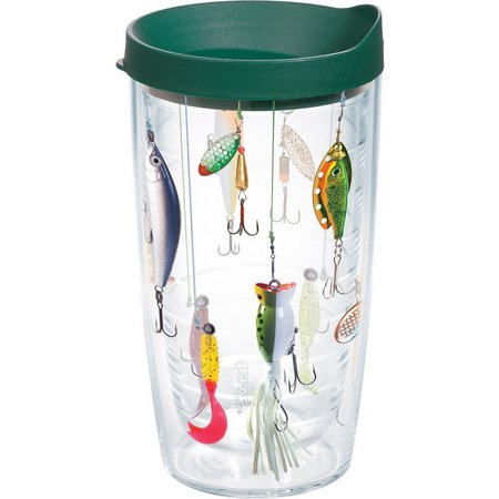 Tervis 16 oz. Fishing Lures Travel Tumbler