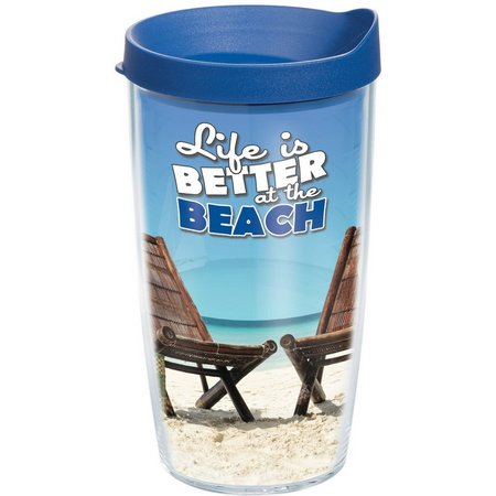 Tervis 16 oz. Better Beach Travel Tumbler