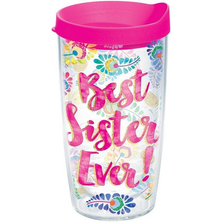 Tervis 16 oz. Best Sister Ever Travel Tumbler