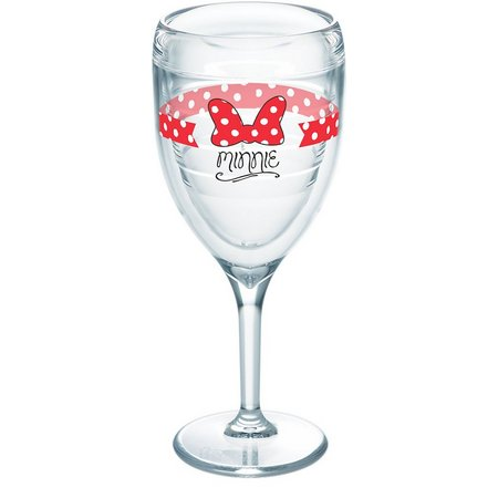 Tervis 9 oz. Minne Mouse Bow Wine Glass