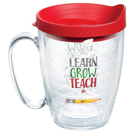 Tervis 16 oz. Learn Grow Teach Travel Mug
