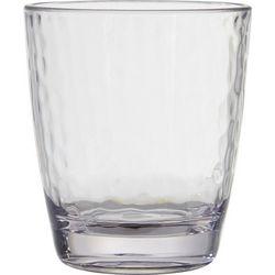 Coastal Home Clear Hammered DOF Glass