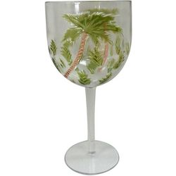 Tropix Etched Insulated Palm Goblet