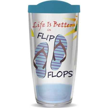 COVO 16 oz. Life in Flip Flops Travel