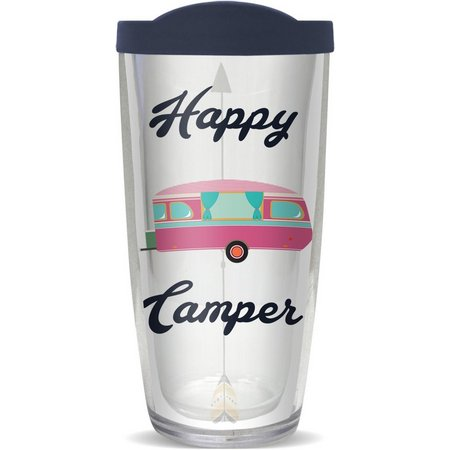 COVO 16 oz. Happy Camper Travel Tumbler