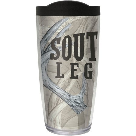 Southern Legends 16 oz. Antler Logo Travel Tumbler