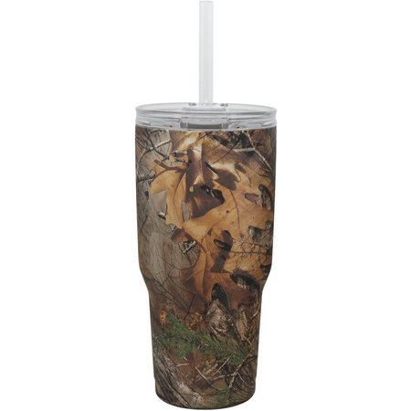 Realtree 34 oz. Camo Insulated Steel Tumbler