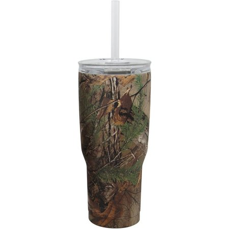 Realtree 24 oz. Camo Insulated Steel Tumbler