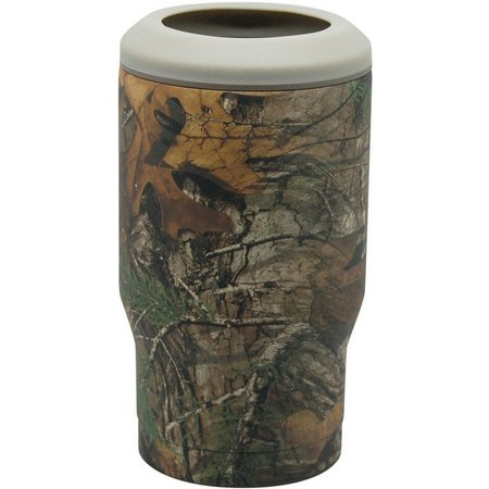 Realtree Camo Vacuum Insulated Bottle/Can Cooler