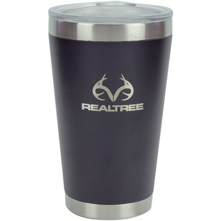 Reduce Realtree 16 oz. Vacuum Steel Pint Tumbler