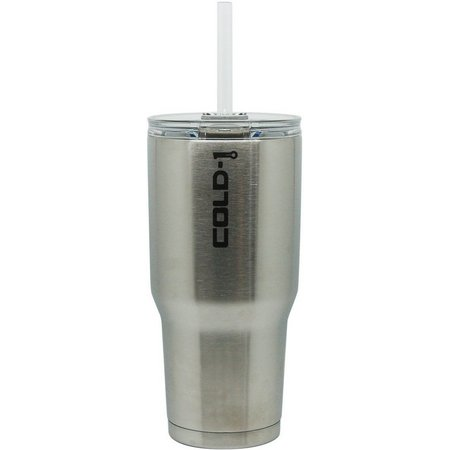 COLD-1 34 oz. Insulated Stainless Steel Tumbler