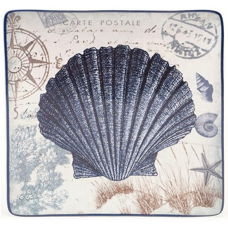 Certified International Seashell Dinner Plate