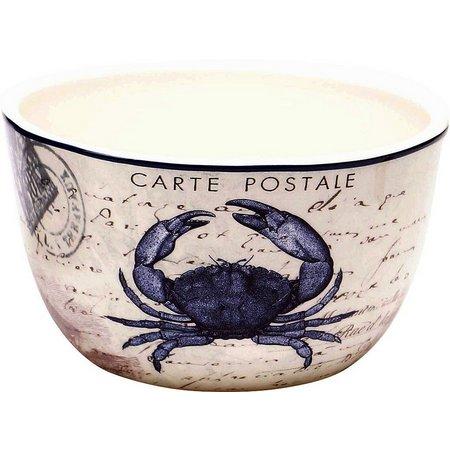 Certified International Crab Ice Cream Bowl