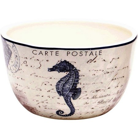 Certified International Seahorse Ice Cream Bowl