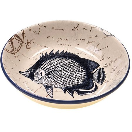 Certified International Fish Pasta Bowl
