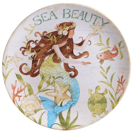 Certified International Sea Beauty Dessert Plate