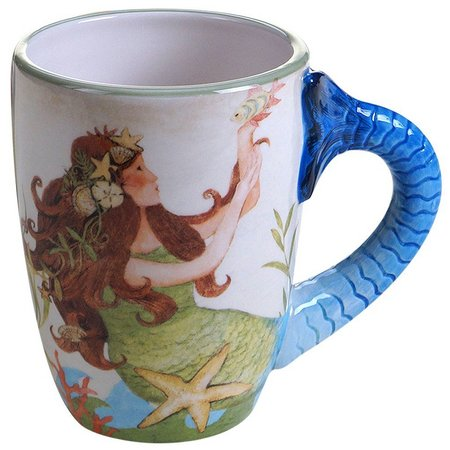 Certified International 20 oz. Sea Beauty Mug