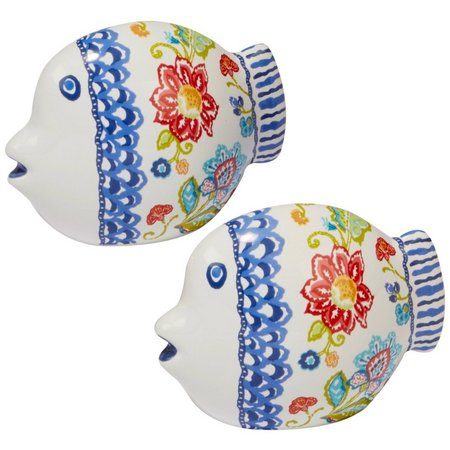 Certified International Fish Salt & Pepper Set