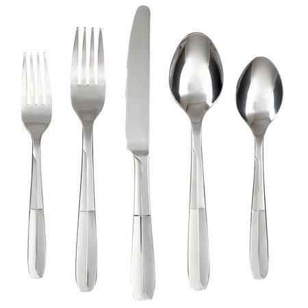 Cambridge Silversmiths 45-pc. Nico Flatware Set