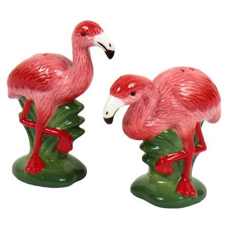 Dennis East Flamingo Salt & Pepper Shaker Set