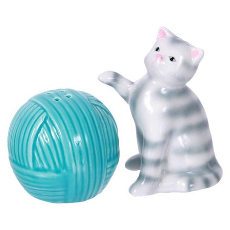 Dennis East Cat & Yarn Salt & Pepper