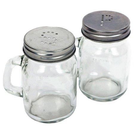 Dennis East Mason Jar Salt & Pepper Shaker