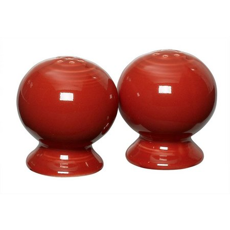 Fiesta Scarlet Salt & Pepper Shaker Set