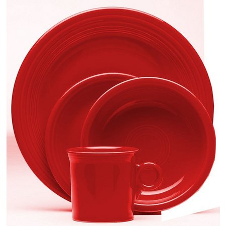 Fiesta 4-pc. Scarlet Place Setting