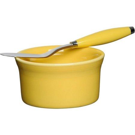 Fiesta 2-pc. Sunflower Dip Bowl & Spreader Set