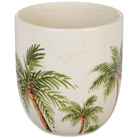 Gibson Palm Tree Utensil Crock
