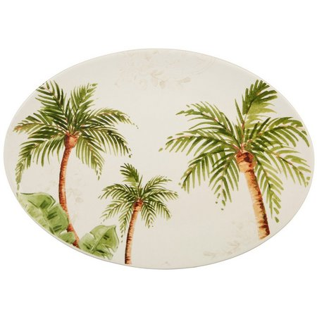 Gibson Palm Tree Oval Platter