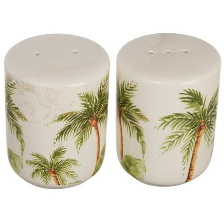 Gibson Palm Tree Salt & Pepper Shaker Set