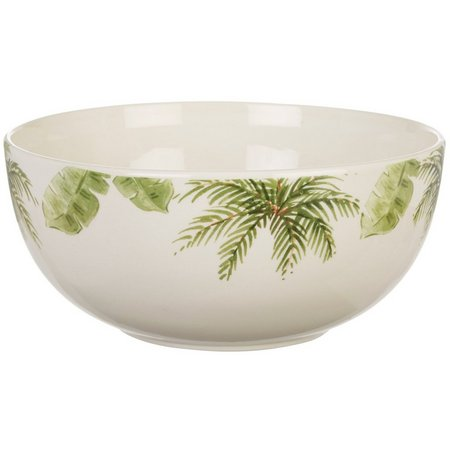 Gibson Palm Tree Serving Bowl