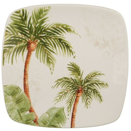 Gibson Palm Tree Appetizer Plate