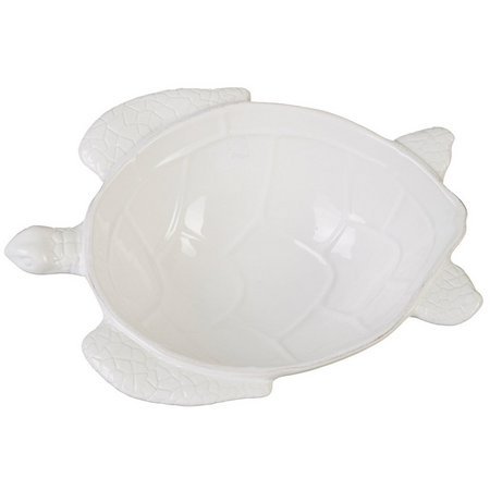 Coastal Home Sea Turtle Shell Bowl