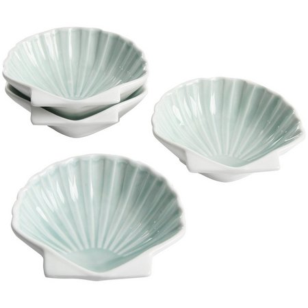 Coastal Home 4-pc. Scallop Shell Bowl Set