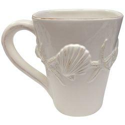 Coastal Home Shell Square Mug