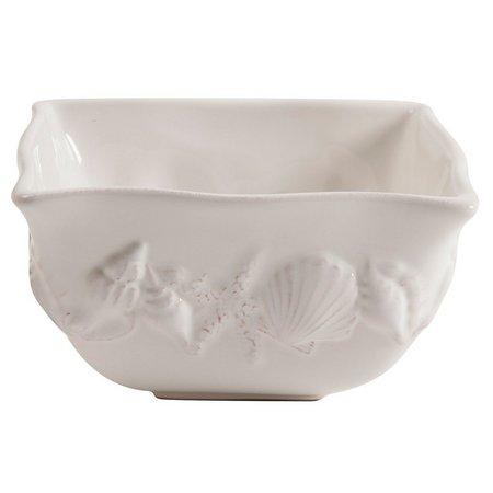 Coastal Home Shell Square Bowl