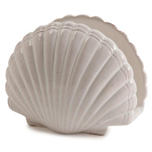 Coastal home shell napkin holder bealls florida - Coastal napkin holder ...